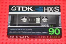 TDK  HS-X    90   BLANK CASSETTE TAPE (1) (SEALED)