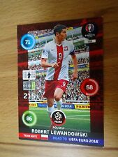 Panini Adrenalyn XL Road to Uefa Euro 2016 Nr.150 Robert Lewandowski Polen