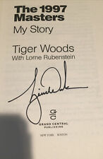 Tiger Woods Autographed The 1997 Masters My Story Book Obtained In Person