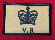 Queen Victoria Cypher Morale Patch Martini Henry Tactical Military Army Badge