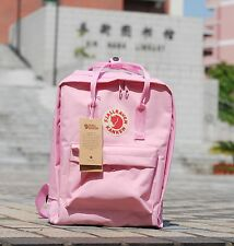 Classical Canvas Backpack Shoulder Bag Rucksack Travel School Bag Fox Flamingo