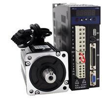 1KW 4 N.M  220V  80mm LCMT-10M02-80M04025+servo driver B2 Set AC Servo Motor kit