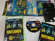 WATCHMEN EL FIN ESTA CERCA PARTES 1 Y 2 XBOX 360 EDICIÓN ESPAÑOLA ARTE EXCLUSIVO