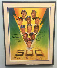 500 Home Run Club Autograph JSA Certified Williams Mantle Mays Banks Aaron