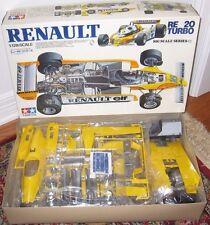 Tamiya RENAULT RE 20 TURBO Jabouille Arnoux Car Kit BS1226 1:12 Scale
