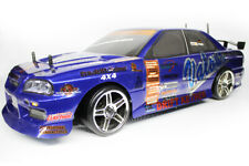 HSP Nissan GTR 1/10 Scale RTR 2.4GHz Radio Control Electric Drift Car With LED L