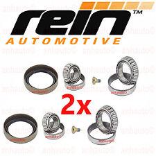 Set of 2 Rein Front Wheel Bearing Kit for Mercedes Benz  W170 W202 C220 C230