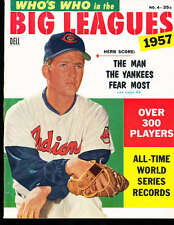 1957 Who's Who in the Big League Herb Score Indians nm