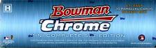 2013 Bowman Chrome Mini Baseball Factory Hobby Set