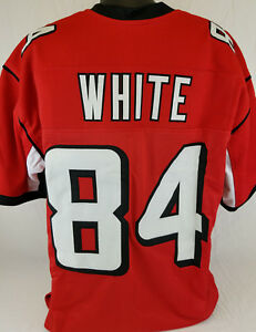 Roddy White Unsigned Custom Sewn Red Football Jersey Size - L, XL, 2XL
