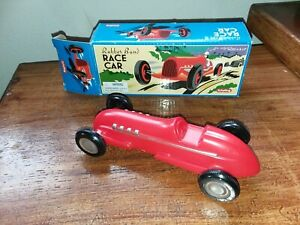 RUBBER BAND RACE CAR  Wheel Sprint Indy Racer Plastic Wind-Up Toy Schylling