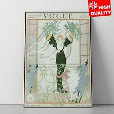 Vogue Magazine Vintage Christmas Cover December 1 1918 Art Poster | A4 A3 |