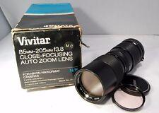 Vivitar MD Mt 85-205mm f/3.8 Lens