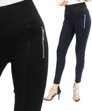 Ladies Womens Plus Sizes Skinny Stretchy Leggings Coloured Fitted Girls Jeggings