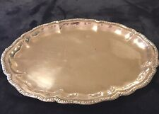 Antique 800 Silver Tray possibly French