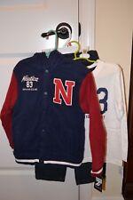 NWT Boys Nautica 3 Piece Set Size 4 Jacket, Pants, Tee