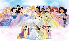 "Disney Princess - Girl Children Cartoon Classic Films Art Canvas Picture 20x30"""