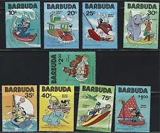 Barbida SC478-486 Walt Disney Characters-Mickey,Goofy,Donald etc. MNH 1981