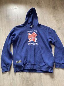 Blue London 2012 Olympics Hoodie Size XL