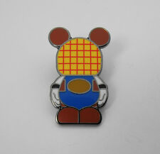 Plaid Design Mickey Mouse Disney Silver Tone Tie Tack Hat Lapel Pin Back