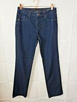 Jag Jeans Womens Jeans Straight Leg Dark Wash Size 10
