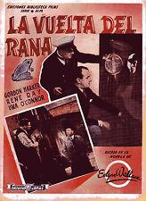 "BIBLIOTECA FILMS""LA VUELTA DEL RANA""GORDON HARKER&RENE RAY&UNA O'CONNOR  ed.ALAS"