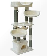 Kratzbaum Katzenkratzbaum Kletterbaum Melina beige deckenhoch große Katzen