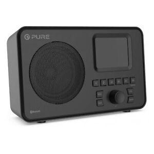 Pure ELAN-ONE FM/DAB+ Radio with Bluetooth Black