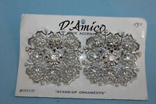 "D'Amico Shoe Accents ""Stand Up Ornaments"" Tip Toe Shoe Clip"