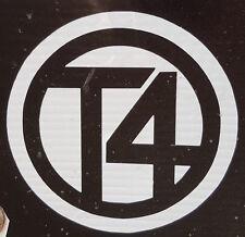 VW t4 Logo Adesivo Cerchio 500mm t4 Van Bus Camper VW Volkswagen CALIFORNIAN