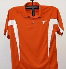 Texas Longhorns Polo Shirt Brick M Dri-Fit NCAA M Unisex adult short sleeve