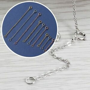 Jewelry Accessories DIY Extender Safety Chain Extender for Bracelet Necklace