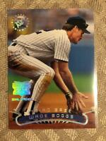 1996 Stadium Club Extreme Players Silver Insert Wade Boggs New York Yankees