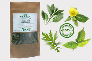 Herbal Blend/CALM&RELAX/CHILL OUT/Minty/Rose Petals/Herbs Smoking Tea Infusion