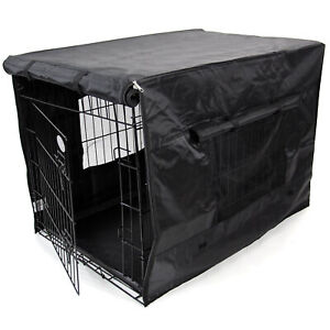 2NDS Dog Cage Cover XL Waterproof Heavy Duty Black 42in 6687