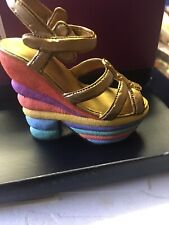 """2 Just the Right Shoe """" Sweet Surprise� by Raine /Willits Miniature Shoe New Coa"""
