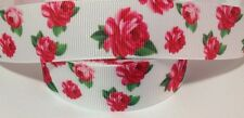 Grosgrain ribbon 1 meter - flowers ribbon