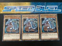 SS02-ENB19 x3 Mint Yugioh Duelists of Tomorrow 1st 3 cards Red-Eyes Spirit