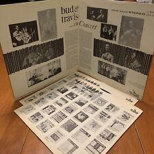 Bud & Travis ...In Concert 2 X LP Liberty Gatefold Folk Stereo EX!!!!