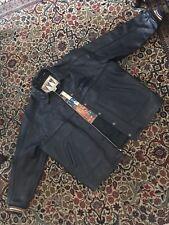 avirex Varsity leather jacket