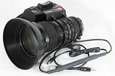 Canon TV zoom J15x9.5B4 9.5-143mm f/1.8 B4 TESTD w/cable 8357