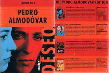 PEDRO ALMODÓVAR Edition No. 3: Deseo (Begierde) --- 4 Filme --- Boxset ---