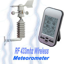 Meteorology Instrument Weather Station Thermometers Wind Speed Direction Sensor