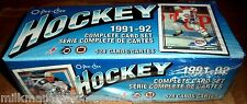 1991-92 O-PEE-CHEE HOCKEY SET factory sealed 528 HOCKEY CARDS  @ $10.95