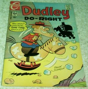 Dudley Do-Right 5, NM- (9.2) 1971 Charlton, SOLID HIGH GRADE COPY!