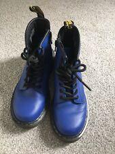 DR MARTINS ARIA Wair con suole Bouncing cobslt Blu UK 12 Stivali alla Caviglia
