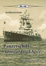 """Deutsche Geschichte * Panzerschiff """"Admiral Graf Spee"""", Nr. 16"""