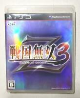 PS3 Sengoku Musou 3 Z 37702 Japanese ver from Japan