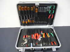 Electronic / Electrical Tool Kit / Case (Xcelite 99, Weller WP25 & Other Tools)