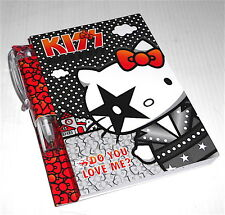 HELLO KITTY - Kiss Serie 2012 Sanrio memo pad + pen - notes quadernino + penna